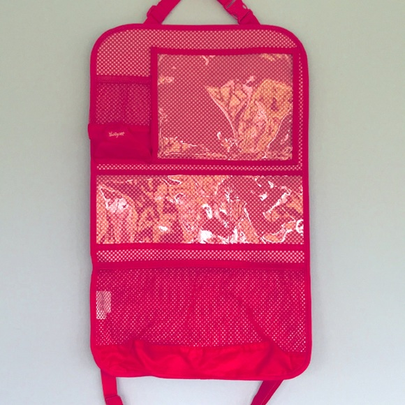 "Thirty-One Pink Fold Up Organizer 24"" x 15"""